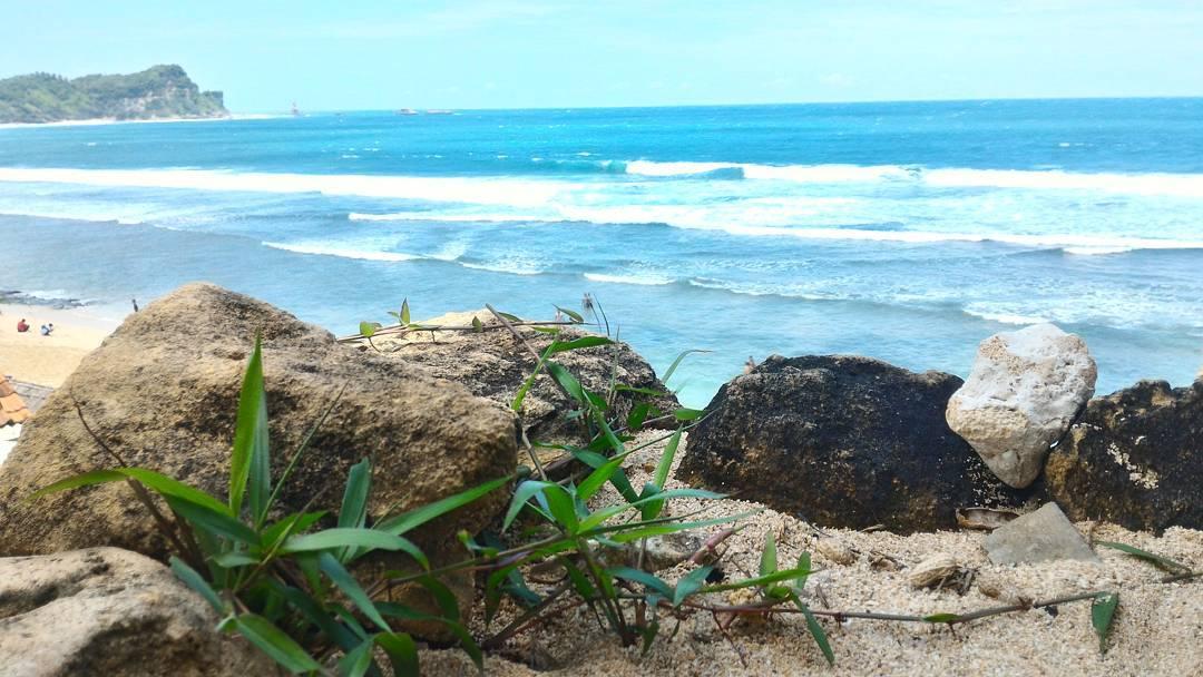 Pantai Nampu Wonogiri Jawa Tengah Garispantai Wisata Kab