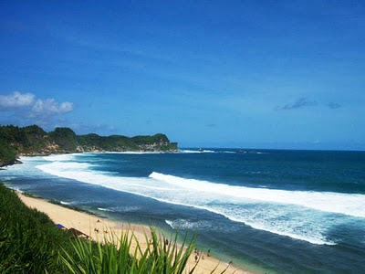 Pantai Nampu Wonogiri Kenali Negrimu Secara Geografis Berada Sisi Selatan