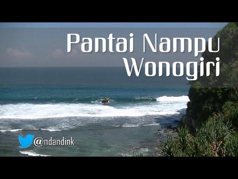 Pantai Nampu Wonogiri Youtube Kab
