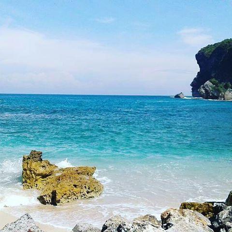 Pantai Sembukan Wisata Magis Kabupaten Wonogiri Foto Elvina Setyani Nampu
