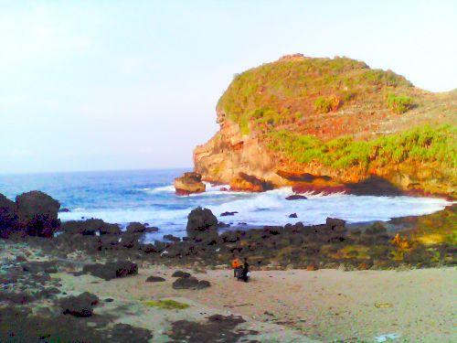 Pantai Wonogiri Superblog Terletak Kecamatan Parang Gupito Kabupaten Satu Jalur