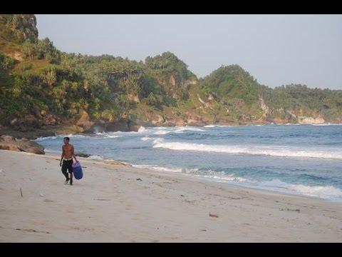 Pesona Pantai Nampu Paranggupito Wonogiri Youtube Kab