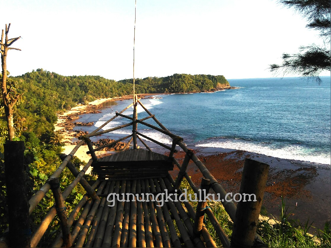 Rute Lokasi Pantai Nampu Gunungkidul Gunungkidulku Kab Wonogiri
