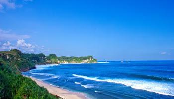 Wisata Pantai Nampu Kabupaten Wonogiri Jawa Tengah Indonesia Wisataarea Kab