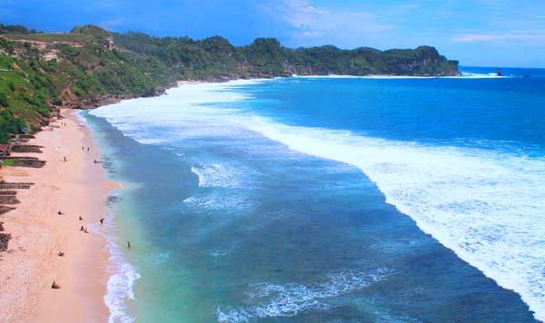 Wisata Pantai Nampu Wonogiri Bakpia Mutiara Jogja Kab