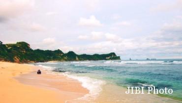 Wisata Wonogiri Jalan Pantai Nampu Diperlebar 2 Meter Kab