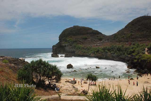 Wisata Wonogiri Pemdes Gunturharjo Buka 3 Pantai Soloraya Nampu Kab
