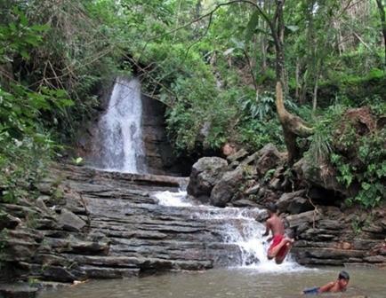 20 Destinasi Wisata Wonogiri Sayang Dilewatkan Air Terjun Binangun Watu