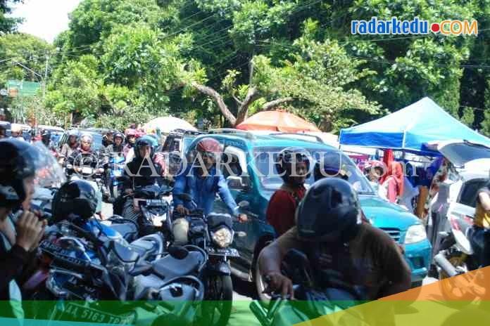 Alun Makin Padat Pedagang Radarkedu Semrawut Jalan Sindoro Kawasan Wonosobo