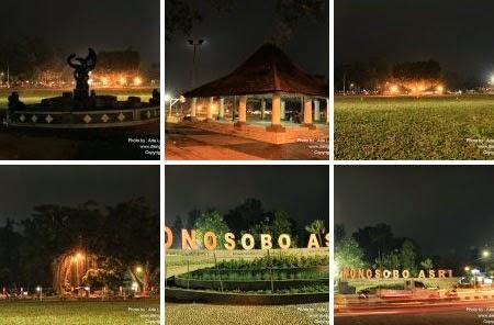 Alun Wonosobo Terindah Jawa Tengah Wonosobozone Malam Hari Sumber Foto