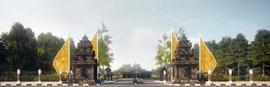 Alun Wonosobo Terindah Jawa Tengah Wonosobozone Pendopo Utara Kab