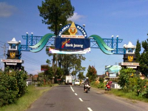 Bagiinfo Menyang Alun Wonosobo Gapura Memasuki Kota Kab