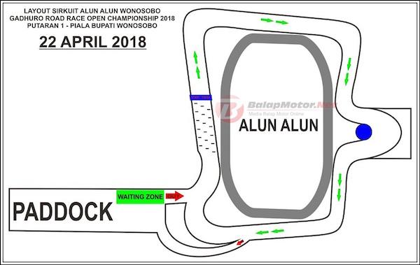 Gadhuro Road Race Wonosobo 2018 Tambahan Kelas Sport Nih Layout