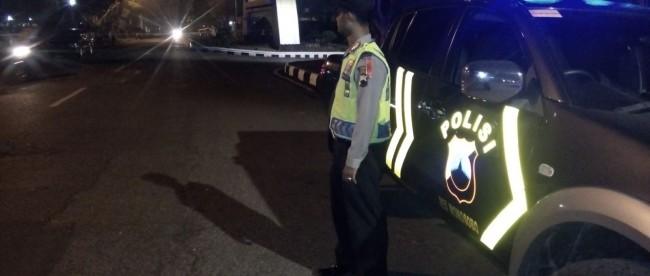 Polsek Wonosobo Patroli Pengamanan Alun Tribrata News Anggota Melaksanakan Kegiatan