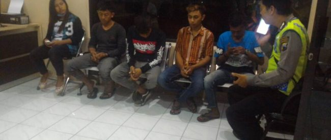 Terjaring Razia Alun Wonosobo Warga Andongsili Tribratanewswonosobo Oprasi Kepolisian Ditingkatkan