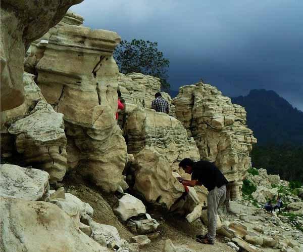 Lubang Sewu Grand Canyon Ala Wonosobo Mangkoko Mengamati Kab