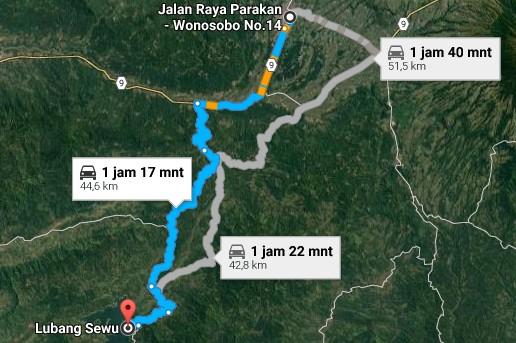 Pesona Destinasi Objek Wisata Lobang Sewu Erorejo Wonosobo Jawa Demikianlah