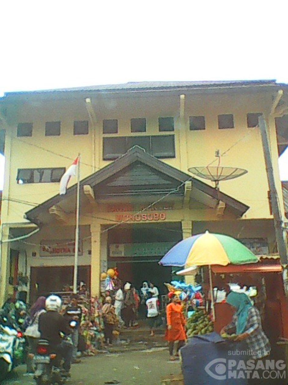 Aktivitas Pasar Kertek Wonosobo Siang Umum Pasangmata Kab