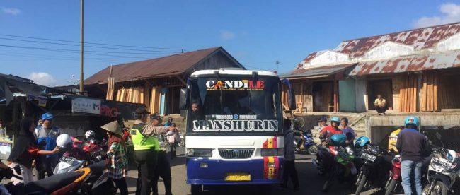 Antisipasi Kemacetan Menjelang Bulan Puasa Polsek Kertek Polres Wonosobo Tertibkan