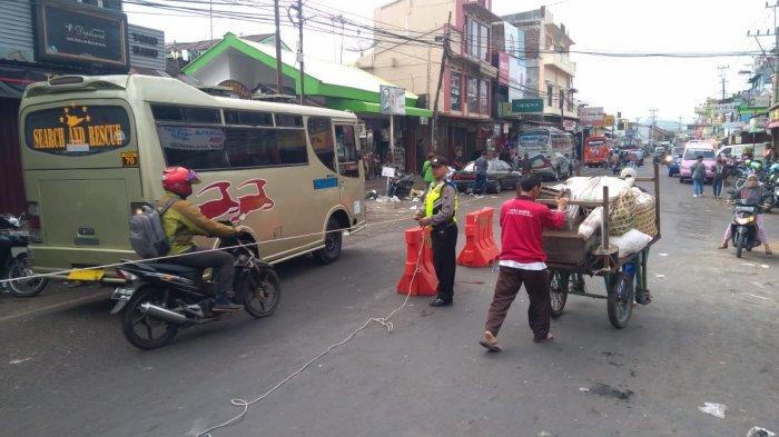 Antisipasi Macet Pasar Kertek Wonosobo Polisi Siapkan Sejumlah Rekayasa Kab