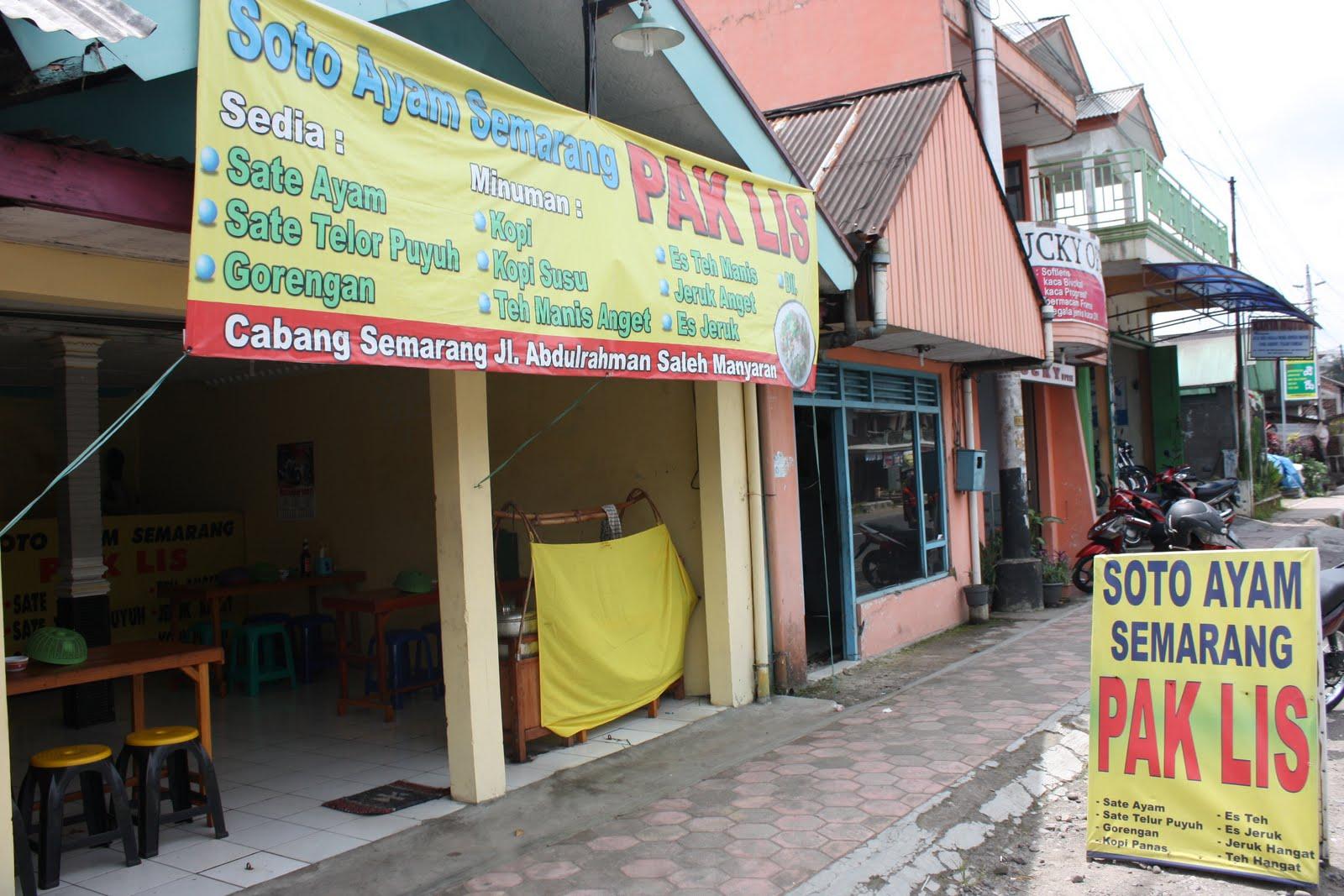 Blognya Kertek Wonosobo Kuliner Citarasa Semarangan Kebetulan Melintas Daerah Tak
