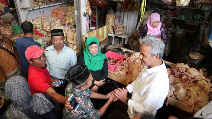 Dialog Warga Wonosobo Ganjar Pranowo Bawang Putih Impor Dibereskan Pasar