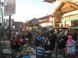 Forum Komunikasi Perangkat Desa Kecamatan Kertek Meraih Keuntungan Pasar Pagi