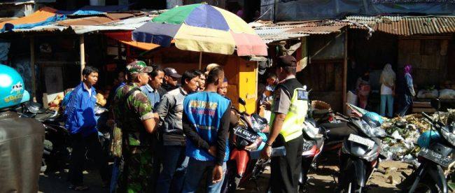 Kapolsek Kertek Adakan Sosialisasi Pasar Wonosobo Kab
