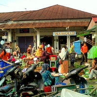Pasar Kertek Wonosobo Jawa Tengah Foto Diambil Oleh Vena Henrietta