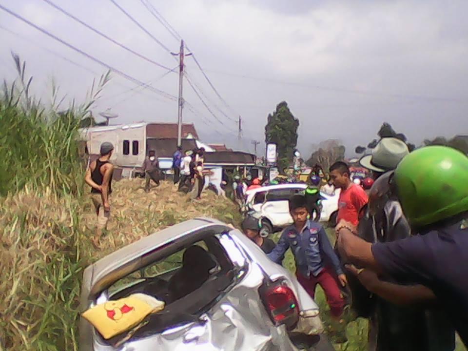 Video Kecelakaan Maut Kembali Terjadi Jalan Raya Kertek Parakan Watching