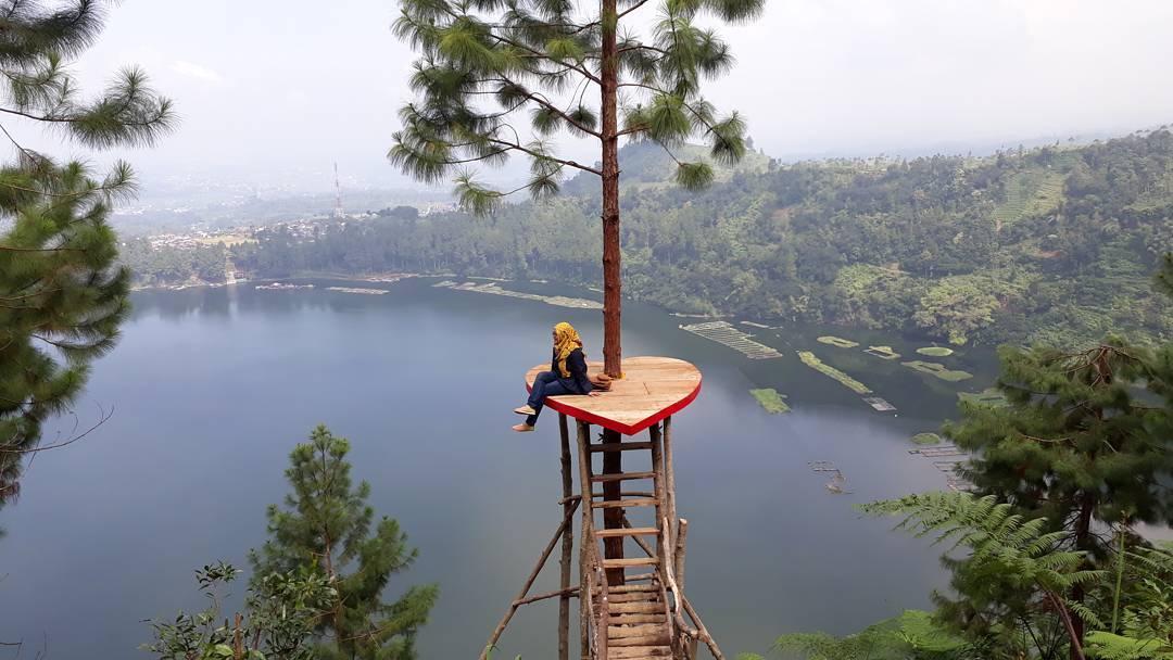 Bukit Seroja Wonosobo Pemandangan Gunung Sindoro Telaga Puncak Kab