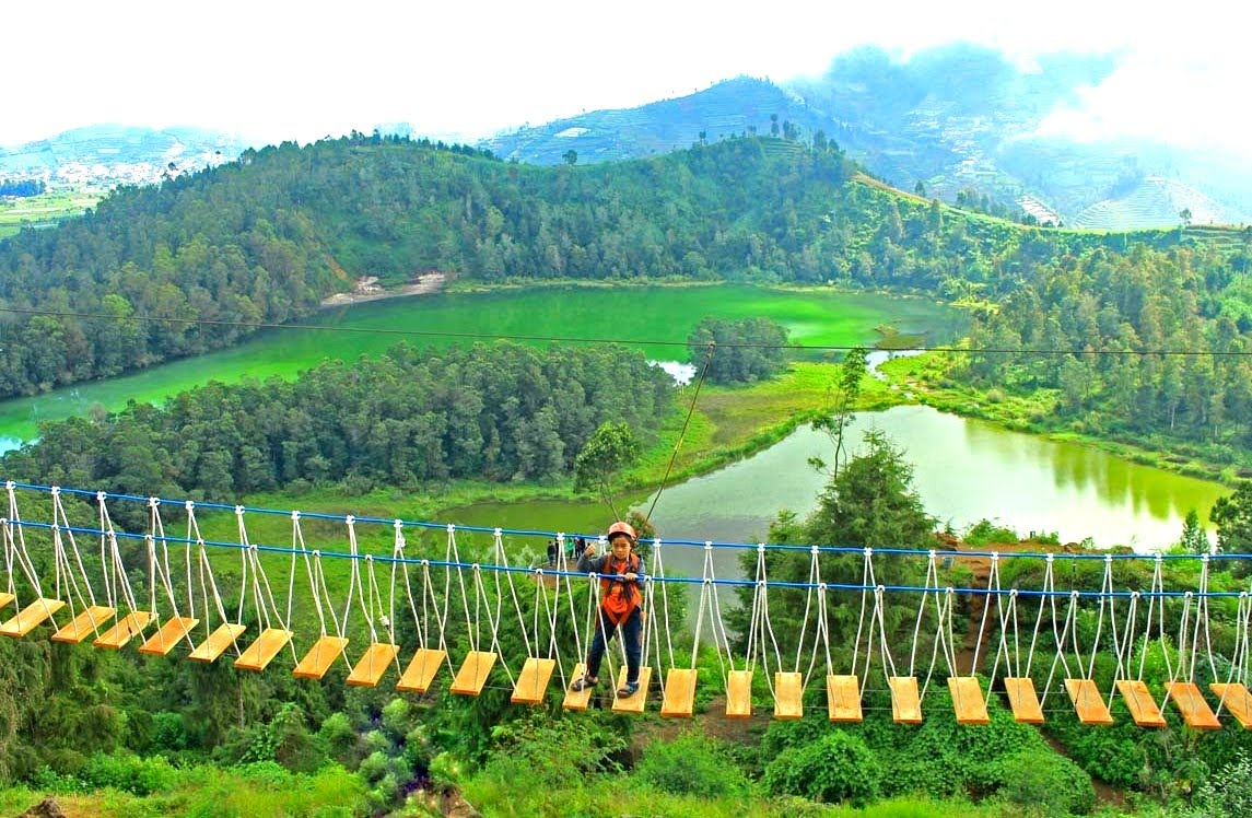 Destinasi Wisata Wonosobo Wajib Kunjungi Puncak Seroja Kab