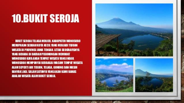 Ppt Wisata Wonosobo Kecamatan Batur 11 12 Puncak Seroja Kab