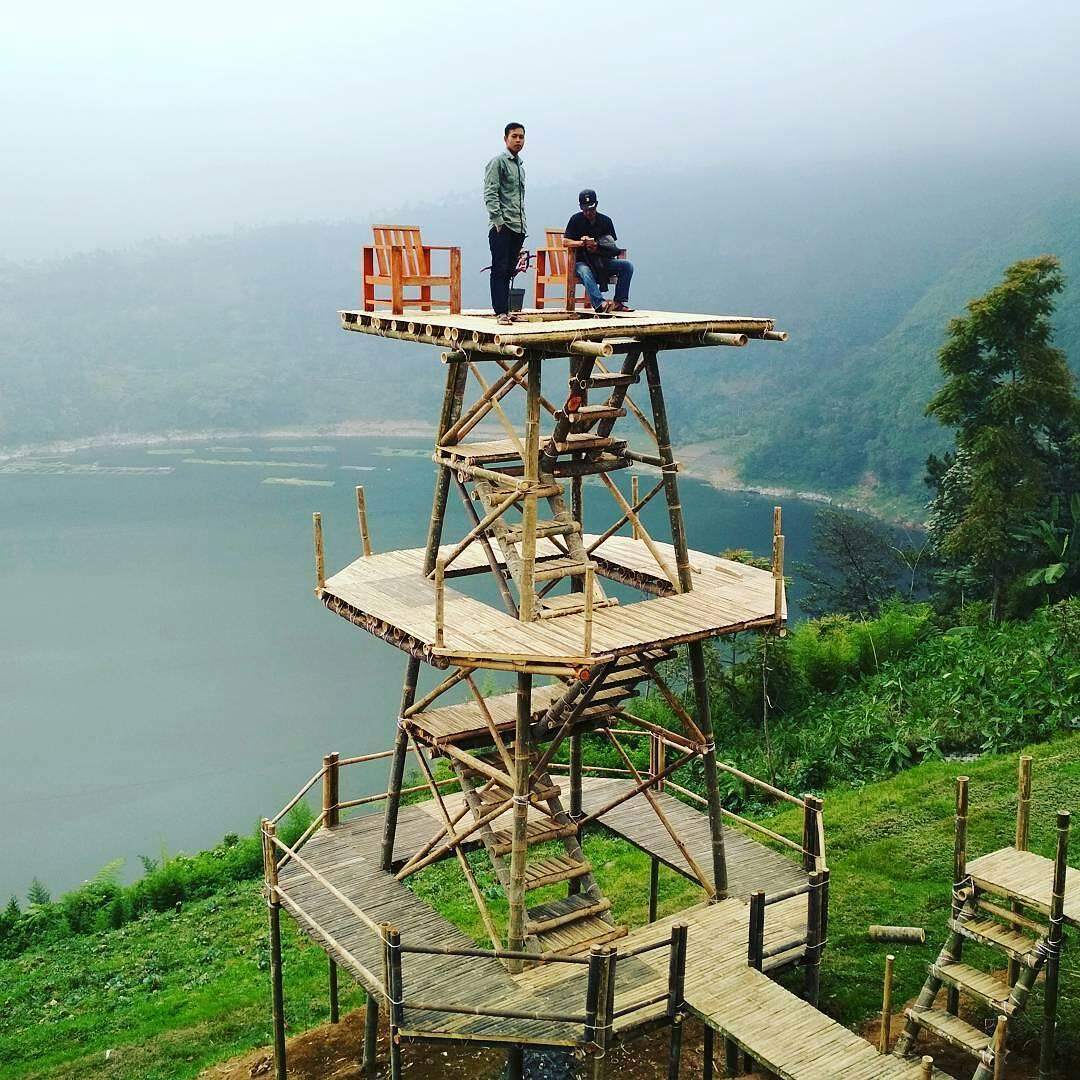 Rute Lokasi Bukit Seroja Wonosobo Hits Ngetripyuk Puncak Kab