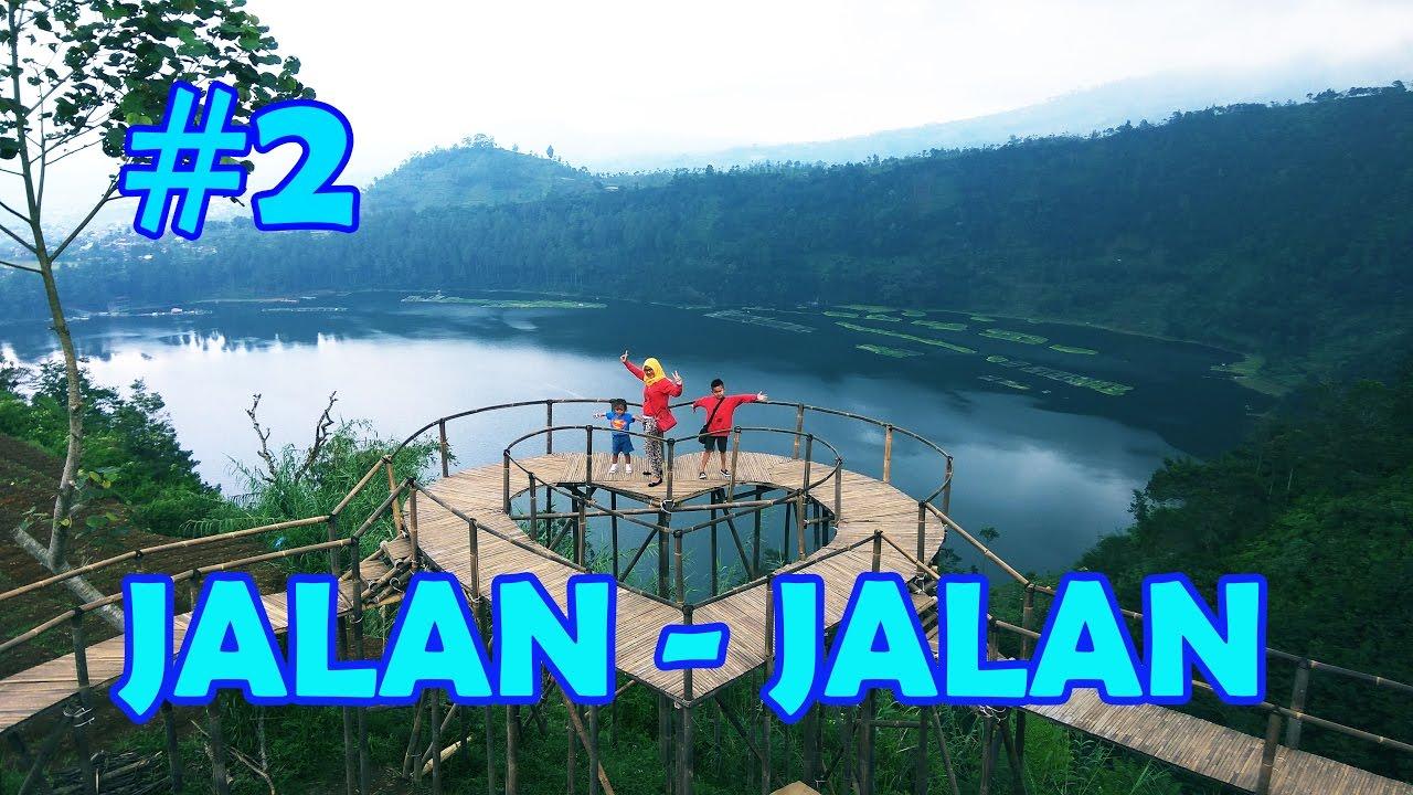 Telaga Menjer Bukit Seroja Wonosobo Youtube Puncak Kab