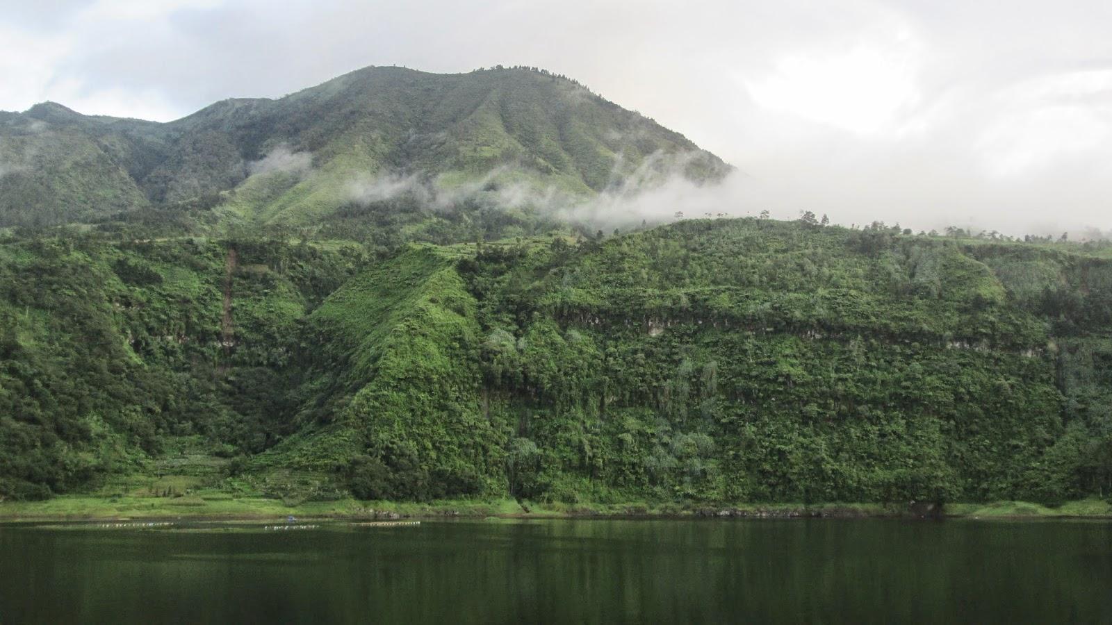 Wisata Alam Seroja Nah Pemandangan Lainnya Panaorama Gunung Gung Menyelimuti