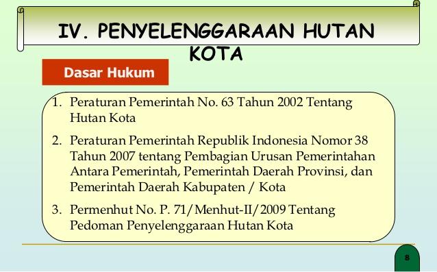 Hutan Kota 7 8 Iv Penyelenggaraan Srengseng Administrasi Jakarta Barat