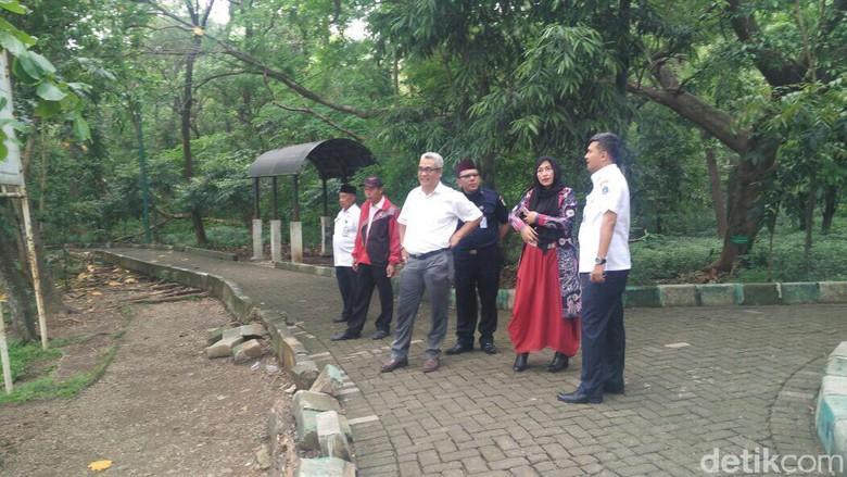 Jakbar Usul Anies Perbaikan Hutan Kota Wisata Pemkot Srengseng Administrasi