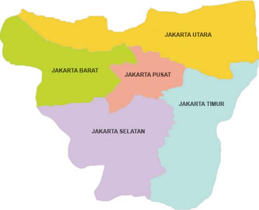 Kode Pos Jakarta Barat Daftar Lengkap Posisi Koordinat Kota 106