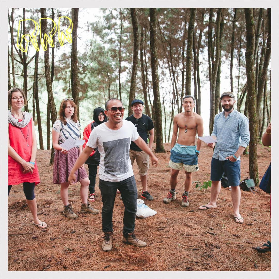 Memelihara Menikmati Hutan Kota Koran Jakarta Adanya Kegiatan Menjadi Tempat