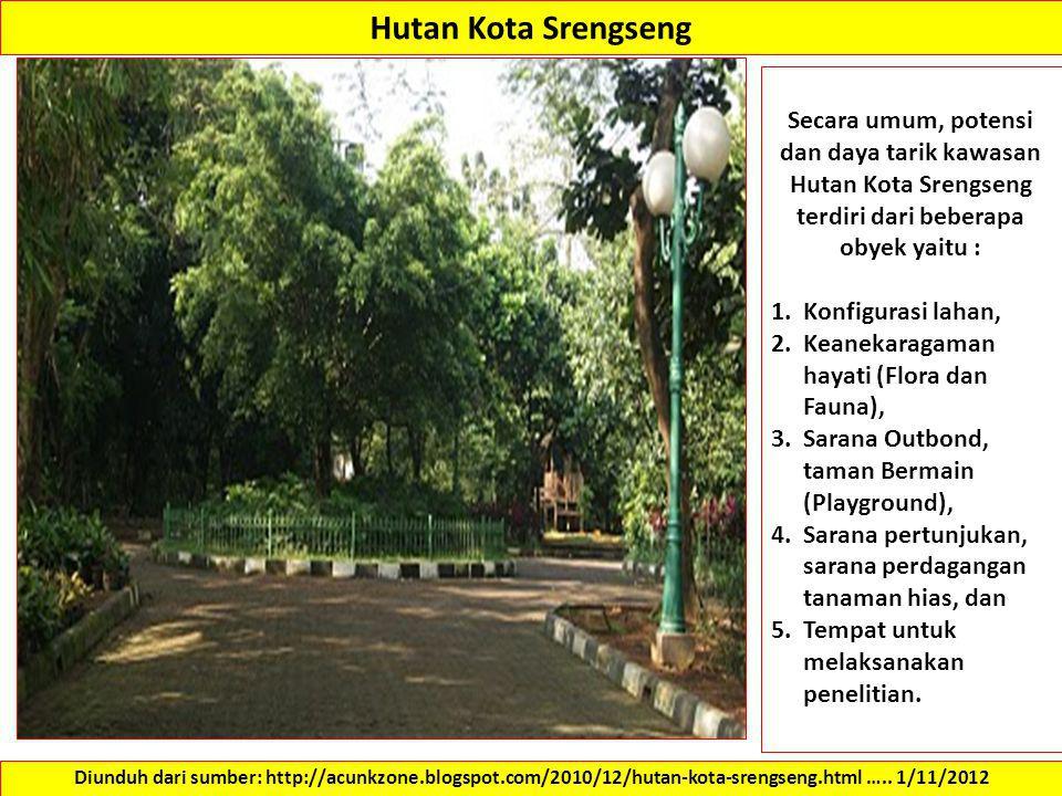 Persyaratan Pengembangan Lahan Ppt Download 9 Hutan Kota Srengseng Administrasi