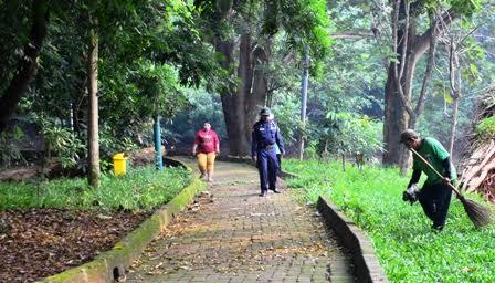 Wali Kota Hutan Terang Benderang Berita Jakarta Barat Srengseng Administrasi
