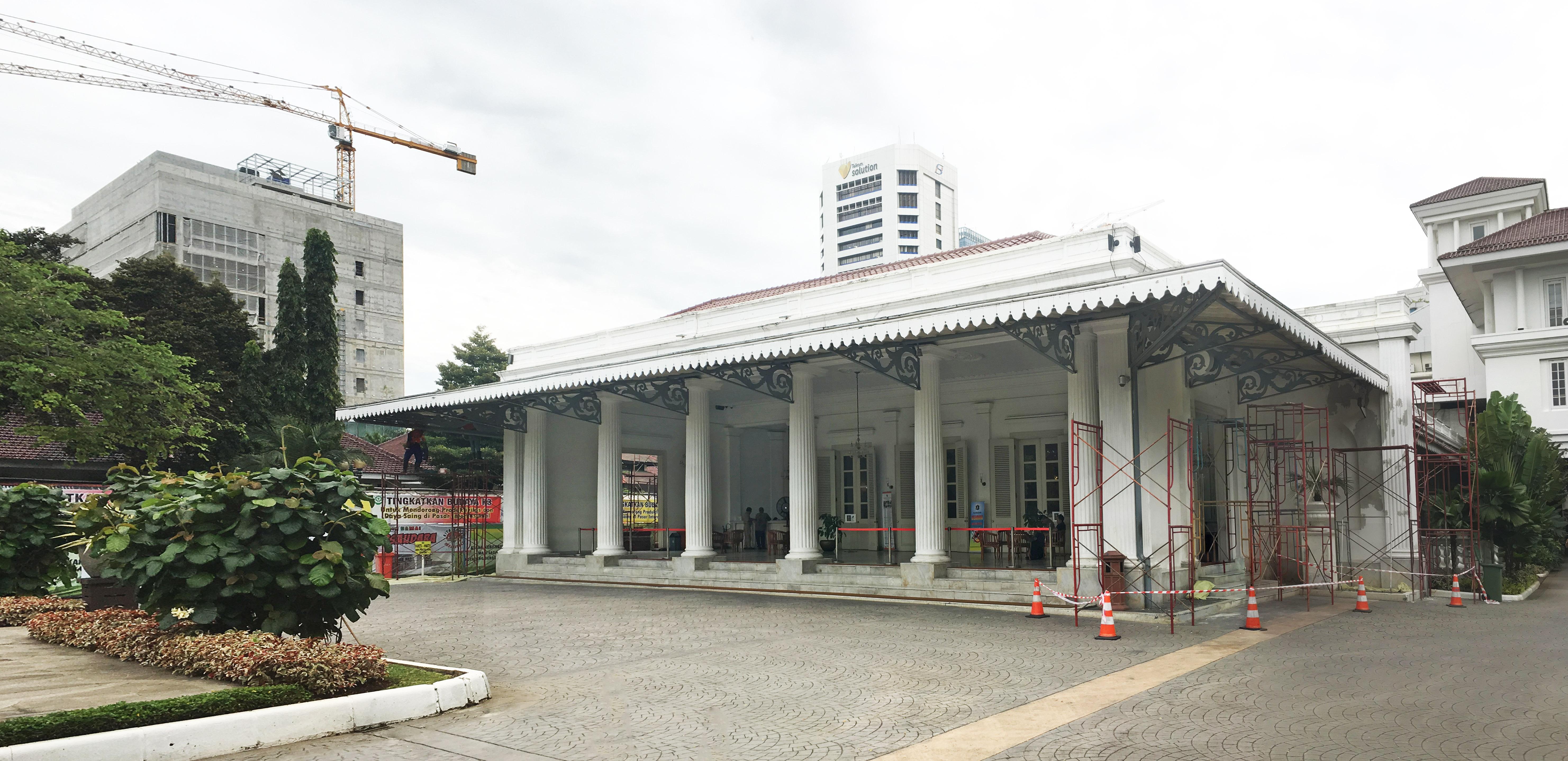 Balai Kota Dki Jakarta Wikiwand Kelenteng Jin De Yuan Administrasi