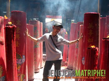 Jakarta Arsip Jengjeng Matriphe Klenteng Jin De Yuan Petak 9
