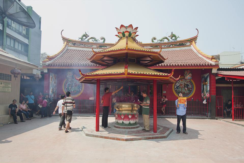 Jakarta Dulu Mediaonline Nasional Kuil Jin De Yuankuil Terletak Wilayah