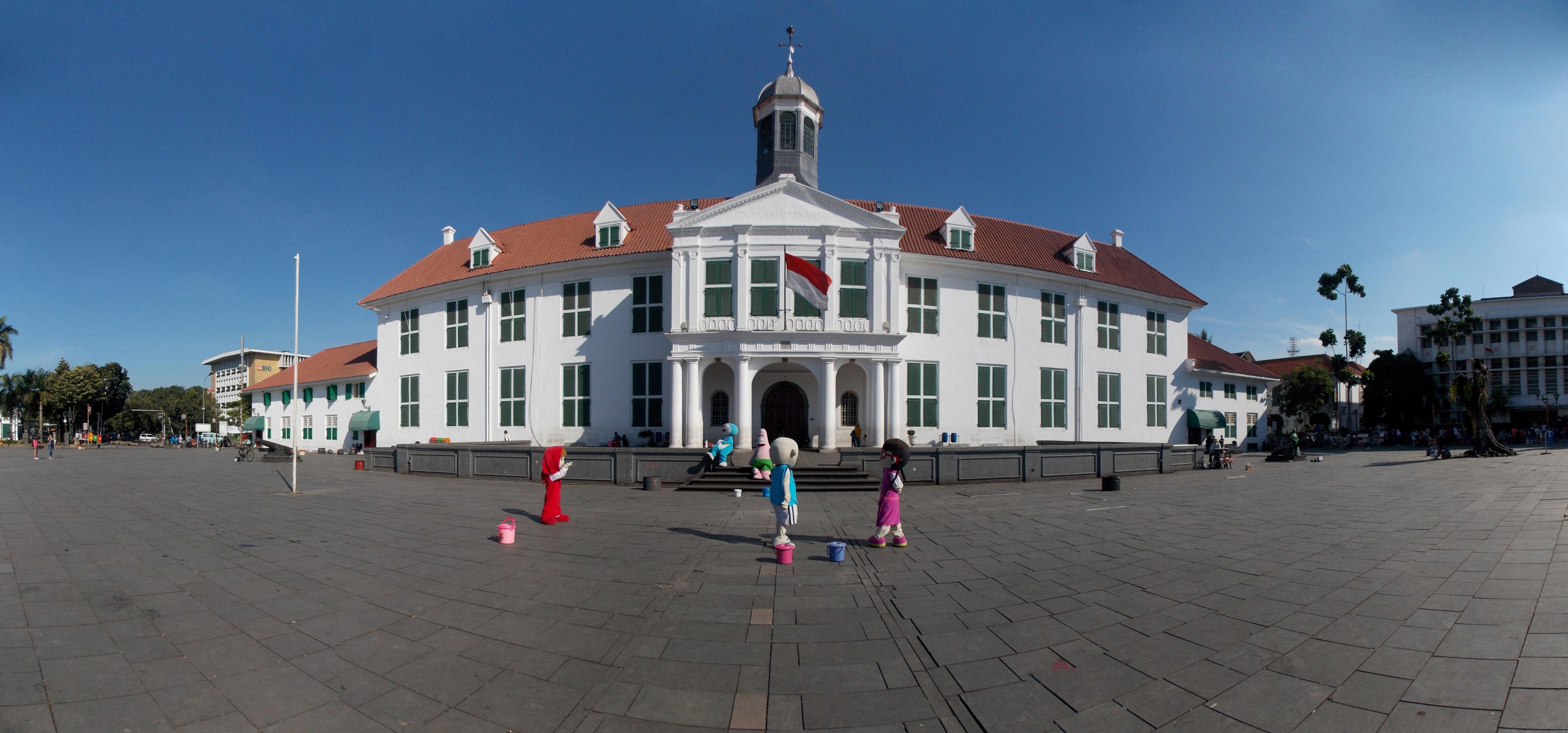Museum Fatahillah Wikipedia Bahasa Indonesia Ensiklopedia Bebas Gouverneurskantoor 100415 Jpg