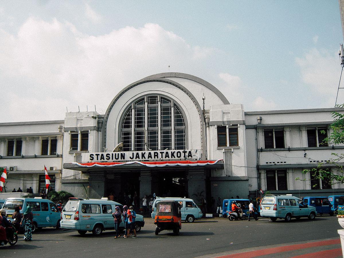Stasiun Jakarta Kota Wikipedia Bahasa Indonesia Ensiklopedia Bebas Kelenteng Jin