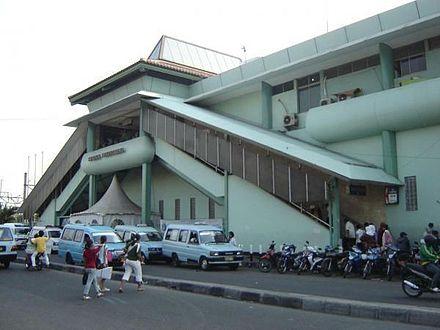 Stasiun Tanahabang Wikiwand Jalan Jatibaru Sebelum Renovasi Kelenteng Jin De