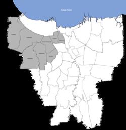 West Jakarta Wikipedia Barat Png Kelenteng Jin De Yuan Kota