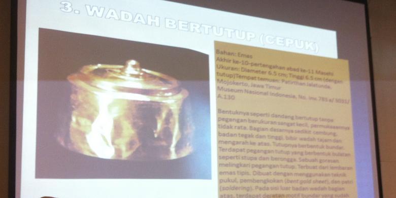 Inilah Keempat Artefak Emas Museum Nasional Dicuri Kompas Gajah Indonesia